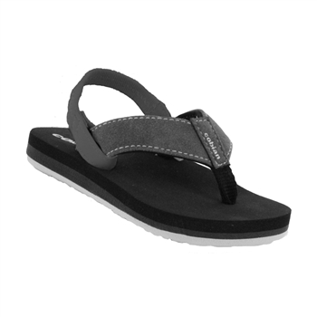 Cobian Floatie - Black Boy's Infant Sandal