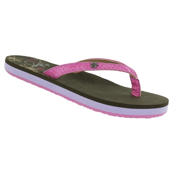 Cobian® Bethany - Lil Hanalei™ - Pink Girl's Sandal