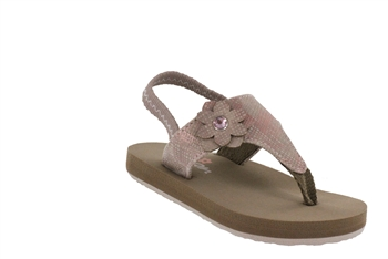 Cobian Lil Verano - Rose Girl's Infant Sandal