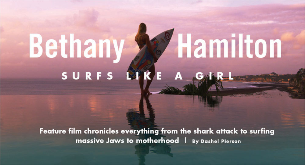 Bethany surfs like a girl graphic